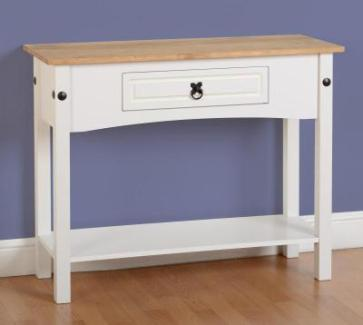 images_gallery_STD_CORONA_1_DRAWER_CONSOLE_TABLE_WITH_SHELF_WHITE_300-304-010