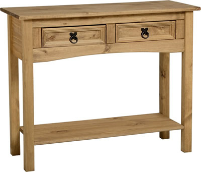 images_gallery_STD_CORONA_2_DRAWER_CONSOLE_WITH_SHELF_300-304-003