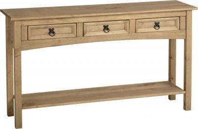 images_gallery_STD_CORONA_3_DRAWER_CONSOLE_TABLE_WITH_SHELF_300-304-004